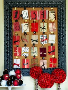 Advent calendars are a fun way for kids to count down the 25 days leading up to Christmas. Check out these festive and unique handmade Advent calendars you can create just in time to open the very first gift.