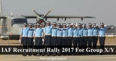 Apply Air Force X & Y Group Recruitment Rally Airmen Group X & Y Recruitment Rally All India Schedule, IAF Technical/Non-technical Group Jobs forms Railway Jobs, Bank Jobs, Watch One, Teaching Jobs, Rally, Air Force, How To Apply, Group