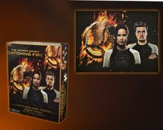 "The Hunger Games: Catching Fire ""Katniss and Peeta"" Jigsaw Puzzle, 27 x 20″, 1000-Piece"