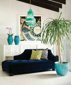 dekoartikel wohnzimmer liegesessel grüne accessoires pflanze