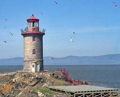 Pilier de Pierre (Stone Pillar) Lighthouse, Quebec Canada at Lighthousefriends.com