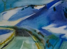Mountain road-2 2014 21x28cm