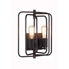 Elegant Lighting Lewis 2 Light Wall Sconce | AllModern