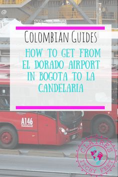 Are you flying into Bogota? If you are then you are probably wondering how to