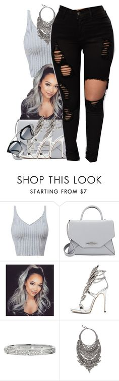 """""""24k Magic"""" by neshalove223 ❤ liked on Polyvore featuring Givenchy, Giuseppe Zanotti, Cartier and DYLANLEX"""