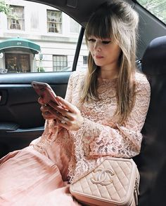 """Jenny Cipoletti on Instagram: """"In the thick of it! Bouncing around in @uber_nyc for Fittings today! Head over to snapchat to see a few things I'm wearing to the shows! {MARGOANDME}  @noravarcho http://liketk.it/2p8je #liketkit #LTKxNYFW"""""""