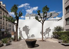 Outdoor areas in a first level of a Crèche Rue Pierre Budin by ECDM Learning Spaces, Learning Environments, Daycare Design, The Learning Experience, 21st Century Learning, Paris Images, Blended Learning, Outdoor Areas, Public School