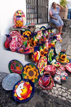 Pottery . Taxco Mexico