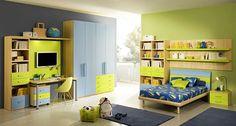 camera adolescenti verde praz