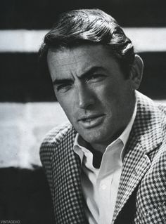 Gregory Peck by John Engstead.