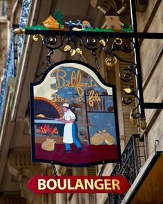 Boulanger - The Baker's Sign - Paris
