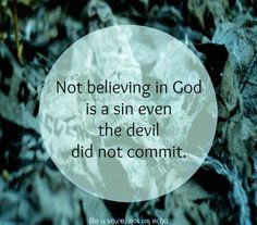 a sin even the devil did not commit life quotes religious quotes inspirational quotes
