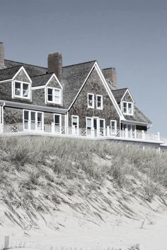Beach Cottages, Nantucket, Driftwood, The Hamptons, Seaside, Beach House, Cabin, House Styles, Outdoor
