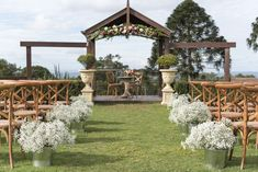 Flaxton Arbour Ceremony Setup with Wooden Chairs and babies breath floral posies added with a gorgeous garland Destination Wedding, Wedding Venues, Arbour, Babies Breath, Wooden Chairs, Rustic Elegance, Sunshine Coast, Garden Styles, Elegant Wedding