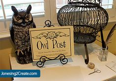 Owl post --- present table??