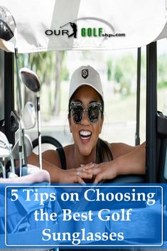 One thing that is often overlooked by golfers is finding the right pair of golf sunglasses. There's a few things you need when choosing the best golf sunglasses, so we are going to help you dive in a little deeper into that world. #golftips #golf Golf Sunglasses, Mirrored Sunglasses, Golf Shop, Golf Lessons, Golfers, Golf Outfit, Golf Tips, Golf Apparel, Good Things