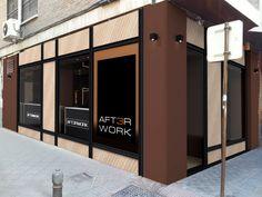 Ideas de #Bar, estilo #Contemporaneo color  #Marron,  #Marron,  #Negro, diseñado por AG Interiorismo  #CajonDeIdeas