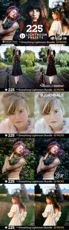 The Everything Lightroom Bundle features all Lightroom Preset Packs released by Presetrain Co.! All you ever need for your creative photography process. With free updates.