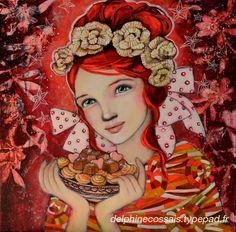delphine cossais artiste peintre - Google Search