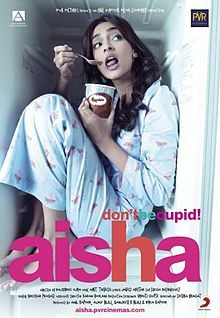 Aisha - The movie is a modern day adaptation of the 1815 British novel, Emma by Jane Austen, a 'comedy of manners' set in the upper class society of Delhi, India. Bollywood News, Best Bollywood Movies, Bollywood Posters, Indian Movies, New Movies, Great Movies, Movies To Watch, Movies Online, Movies 2014
