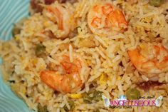 """Seasoned Rice with Ackee Page 46 of my Cookbook """"From My Taste Buds to Yours"""" Purchases available on my website"""