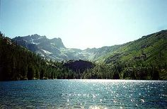 Upper Sardine Lake, Lower Sardine, Sardine Lake Resort, Lakes Basin California