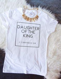 265cffdf0 Daughter of the King Shirt. OnesiesFashion DesignerBudget FashionT Shirts  For WomenClothesMens ...