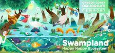 Swampland on Behance