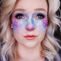 Galaxy Freckles- alien make up for halloween?