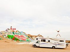 Salvation mountain, California.
