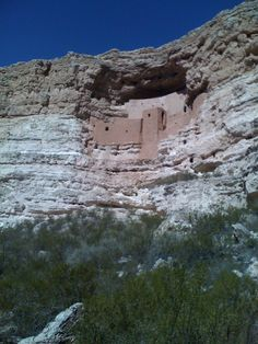 Montezumas Castle National Monument in Arizona. It is quite intriguing, but smaller than I expected. Poor photo was taken with old cell phone.