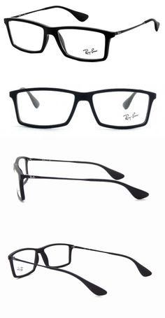 bce992373f1 Eyeglass Frames  New 100% Authentic Ray- Ban Mens Eyeglasses Rb7021 5364  Mathew Black