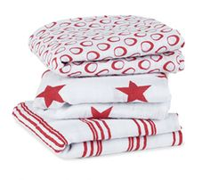 New aden and anais swaddlers out today to support (RED)  provide life-saving HIV drugs to new moms + babies
