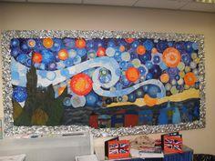 Van Gogh Bulletin Board-how cool!!