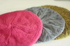Ravelry: Project Gallery for Simple Beret pattern by Hannah Fettig
