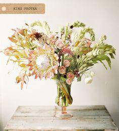 protea bouquet ideas