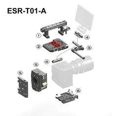TiLTA ESR-T01-A for RED Weapon/Raven/Scarlet-W Rig
