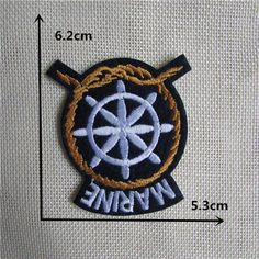 High quality mixture hot melt adhesive embroidery patch