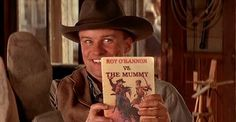 """Roy O'Bannon contro la Mummia"" di Sage McAllister dal film ""Due cavalieri a Londra"" (Shanghai Knights, 2003) #Pseudobiblia"
