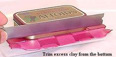 HowTo Cover an Altoid Tin