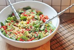 Colourful Quinoa Salad — Jesse's Kitchen Apothecary