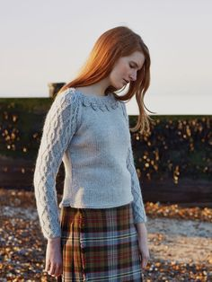 Rowan knitting patterns, Windswept, Dill, from Laughing Hens