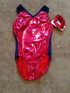 Under Armour leotard that I bought at Head to toe dance wear!