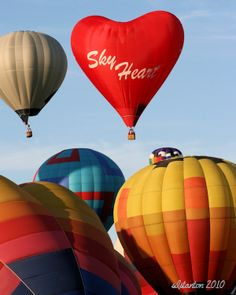 The Albuquerque International Balloon Fiesta 2010 - We attended & celebrated my Dad's 91st birthday!