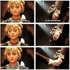 I cried so hard during this scene - no matter what face the Doctor has, he'll always, always, ALWAYS come back for his companions.