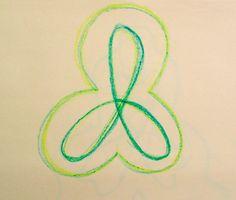Waldorf ~ 2nd grade ~ Form Drawing ~ Metamorphosis ~ main lesson book
