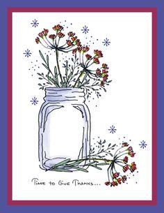 Dill Jar Card
