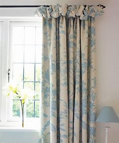 Puffball headed curtains