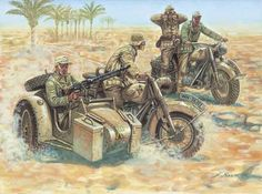 Art illustration - World War II