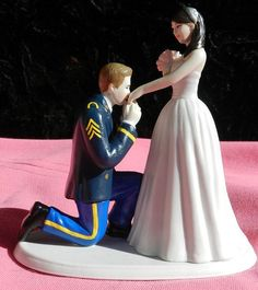 US Army MILITARY soldier prince wedding cake by CarolinaCarla, $125.00